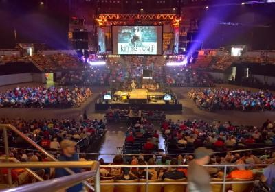 Jimmy Speaking At Main Event Nashville